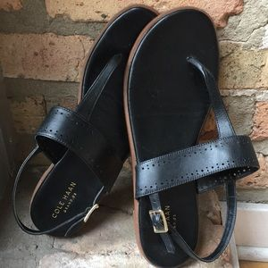 Cole Haan black sandals size 7.5